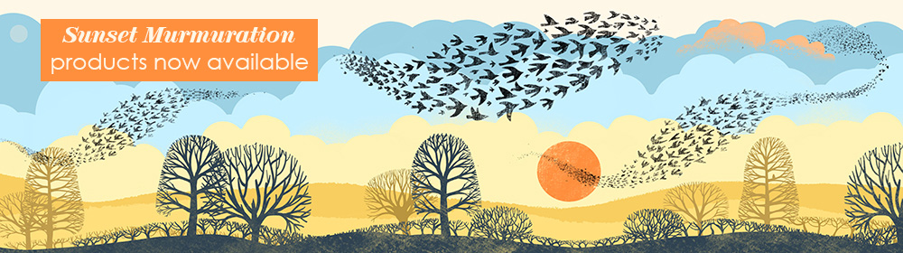 AVAILABLE sunset murmuration