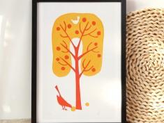Bird in the Apple Tree inframe