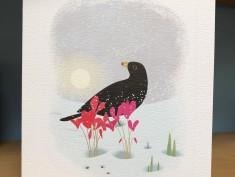 ArtAngelscard Blackbird