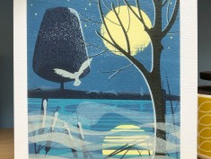 ArtAngelscard Moonlight Hares