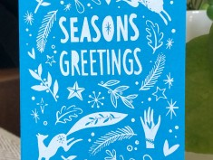 blue seasons greetings