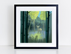 Forest giclee mockup